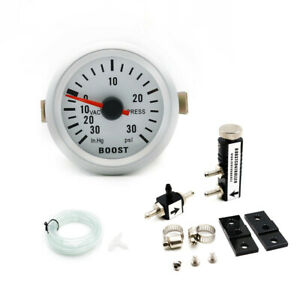 2inch 52mm Pointer PSI Turbo Boost Vacuum Pressure Gauge w/Boost Controller Kit