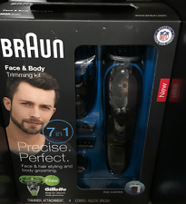 Braun Face And Body Grooming Kit 7-in-1 Beard / Hair Trimmer