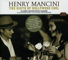 Henry Mancini - The Birth of Hollywood Cool -  3 CD Box Set - NEW SEALED