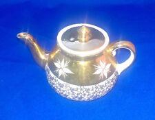 Unboxed Decorative Staffordshire Pottery Tea Pots