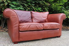 2 seater semi aniline COLLINS and HAYES Heal`s sofa