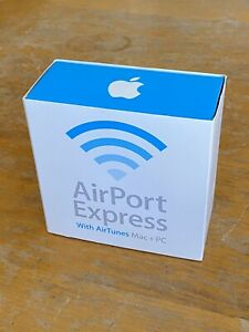Apple AirPort Express Base Station 802.11b/g with AirTunes A1084 Original Box
