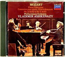 LONDON FULL SILVER Mozart ASHKENAZY Piano Concerto (CD 1984 W.GERMANY) 411 947-2