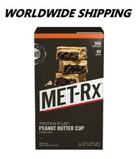 Met-Rx Big 100 Peanut Butter Cup Meal Replacement Bar 4 Ct WORLDWIDE SHIPPING