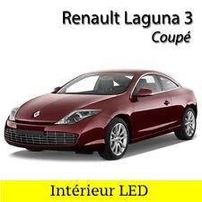 Kit complet ampoules à LED Intérieur Blanc pour Renault Laguna 3 Coupé