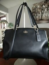 COACH Christie Carryall convertible Crossgrain Leather Bag F36606