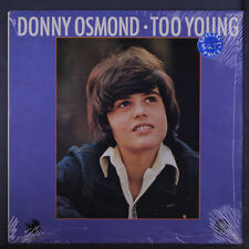 DONNY OSMOND: Too Young LP Sealed (Germany) Rock & Pop