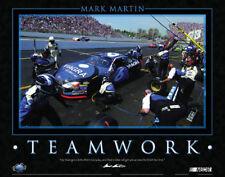 Rare Mark Martin TEAMWORK #6 Viagara Ford Vintage 2004 Classic NASCAR Poster