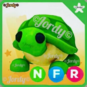 🐢 NEON TURTLE (NFR)👌 Adopt Me - Roblox. With Fly Ride. Virtual game pet item