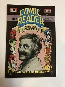 Comic Reader (1980) # 179 (VF) Street Enterprises Stan Lee April Fools Cover