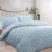 Sleepdown Ditsy Floral Bedding - Reversible Duvet Cover and Pillowcase Set