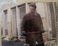 ANDREW LINCOLN SIGNED 8X10 PHOTO WALKING DEAD C W/COA+PROOF RARE WOW