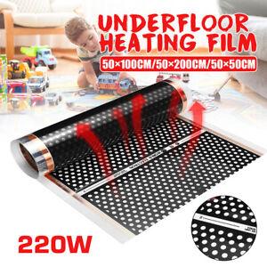 50cm Width Electric PTC Home Floor Infrared Underfloor Heating Warm Film Mat