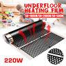 50cm Breite elektrische PTC Home Floor Infrarot Fußbodenheizung Warm Film
