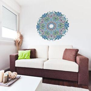 Floral Victorian Mandala Vinyl Wall Art Sticker for Home Decor / Interior Des...