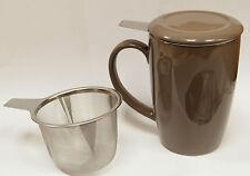 Mugs tasse tisanière filtre théière taupe