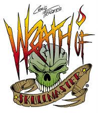 Artool Craig Fraser Wrath of Skullmaster Mini Series Airbrush Stencils Set of 6