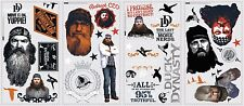 New DUCK DYNASTY WALL DECALS Room Stickers Kids Bedroom or Man Cave Decor