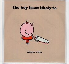 (EC256) The Boy Least Likely To, Paper Cuts - DJ CD