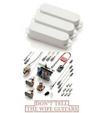 EMG SA SET WHITE 3 STRAT PICKUPS (FREE WORLDWIDE SHIPPING) Stratocaster Replace