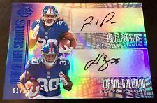 2017 Illusions #MD-PG Wayne Gallman/ Paul Perkins Dual Autograph RC 1/15 Giants
