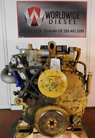 "04"" CAT C-13 KCB Diesel Engine, 410HP, Turns 360, Good For Rebuild Only"