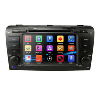"""7"""" Car DVD GPS Navigation Stereo Head Unit SD For Mazda 3 2004-2009 Support Bose"""