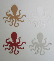 OCTOPUS Punch Set Lot of 24 punch-outs punchouts Cutouts U-Pick color