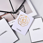 1X New CHANEL VIP BEAUTY GIFT Camellia Metal Small Bookmark Free Shipping