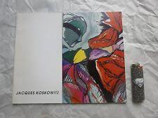 jacques koskowitz baume-les-dames catalogue d'exposition