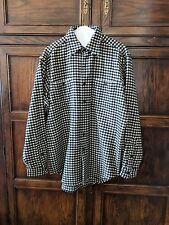 Vintage Polo Ralph Lauren Cashmere Black & White Jacket Shirt Sz M - Fantastic!