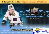 2018/19 Upper Deck Series 2 Hockey HUGE Sealed 12 Pack Blaster Box-2 YOUNG GUNS