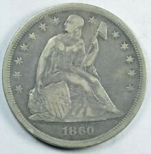 1860-O Seated Liberty Dollar VF+ Very Fine