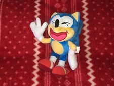 """Official TOMY LAUGHING SONIC The Hedgehog Sonic Plush 8"""" SEGA Toy Doll 2017"""
