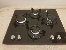 Hotpoint DD 642 WHBK Gas Hob - Black 4 burners