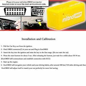 OBD2 Performance Tuning Chip Box Saver Gas/Petrol Vehicles Plug & Drive For Car