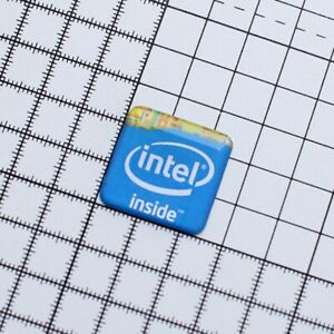 5 x intel Nvidia amd or windows 7 logo domed label sticker badge for laptop PC
