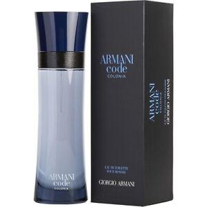 ARMANI CODE COLONIA * Giorgio Armani 4.2 oz / 125 ml EDT Men Cologne Spray