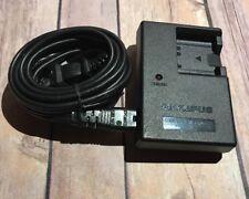 Genuine OEM Olympus LI-40C Battery Charger & Plug Cord
