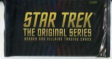 Star Trek The Original Series Heroes & Villains Factory Hobby Packet / Pack