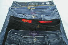 "LOT OF 5 WOMENS JEANS MIXED BRANDS MISS ME, KUT FROM THE CLOTH, 3 NYDJ 29"" WAIST"