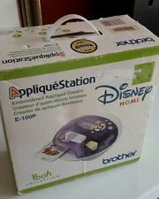Brother Embroidery Applique Station E-100P Winnie Pooh Designs Thread Cartridge