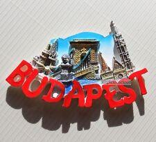 TOURIST SOUVENIR 3D TRAVEL FRIDGE MAGNET --- Budapest , Hungary