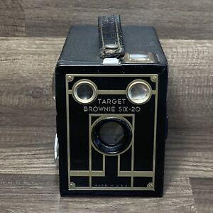 Vintage Brownie Target SIX-20 Box Camera Eastman Kodak - Good Condition
