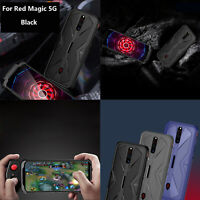 For Nubia Red Magic 5G Phone TPU Shockproof Hard Case Back Cover w/Sliding Rails