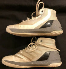 Under Armour White Youth Basketball High Tops Size 1Y