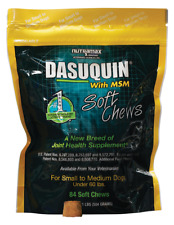 Dasuquin MSM for Small to Medium Dogs (84 Soft Chews), 01/2022, NEW
