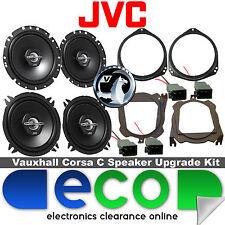 Vauxhall Corsa C 00-06 JVC 1100 Watts Front Door & Rear Hatch Car Speaker Kit