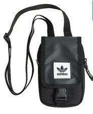 Adidas Originals Map Bag ,Messenger Cross-body Travel Mini Pouch Bags, Black, 07