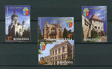 Romania 2016 MNH Cities Cluj-Napoca 4v Set Universities Architecture Stamps